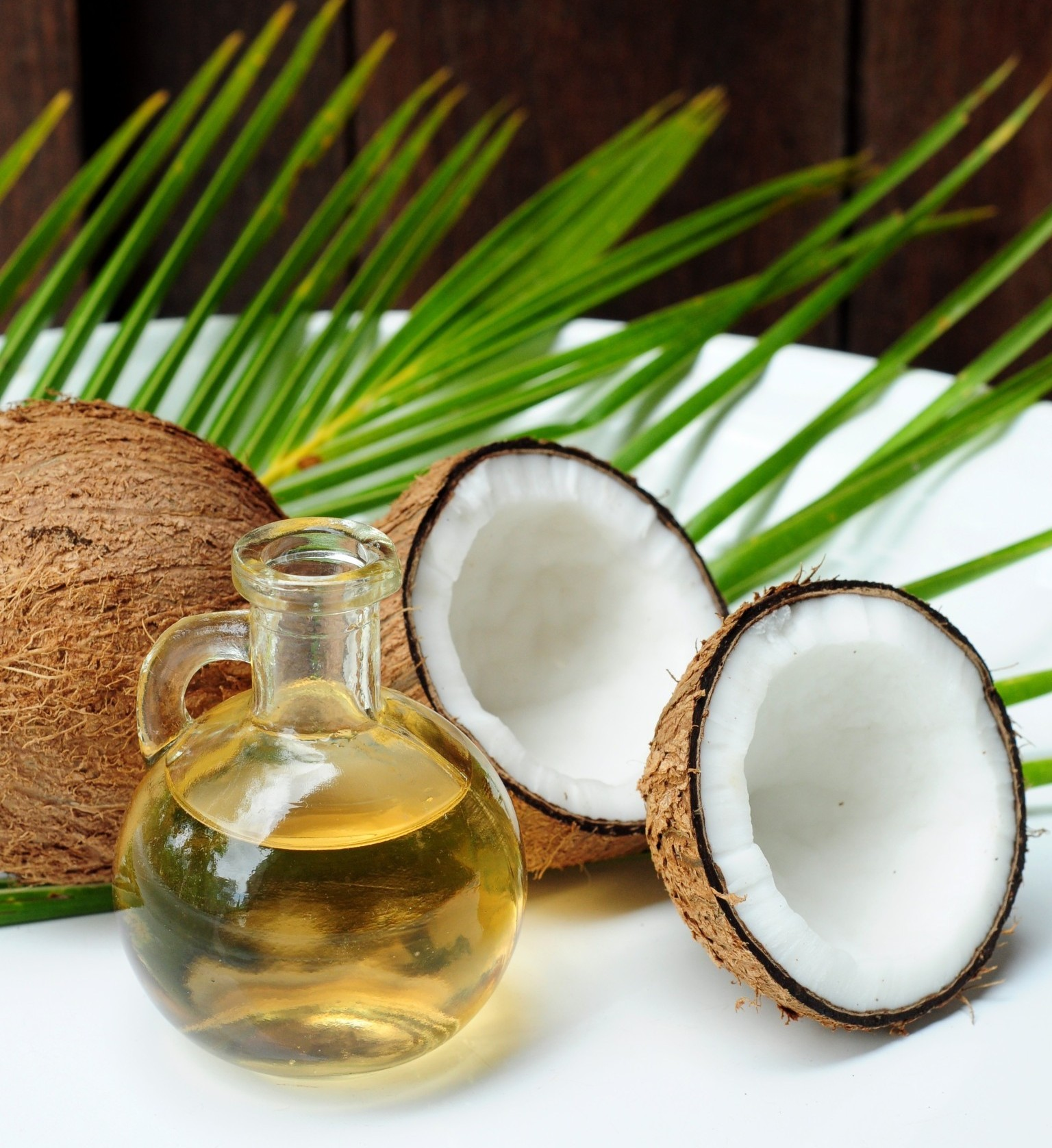 Coconut oil for alternative therapy; Shutterstock ID 91471028; PO: The Huffington Post; Job: The Huffington Post; Client: The Huffington Post; Other: The Huffington Post