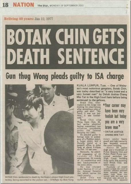 Penjenayah Terkenal Botak Chin Akui Bukan Mudah Jaga Malaysia ...