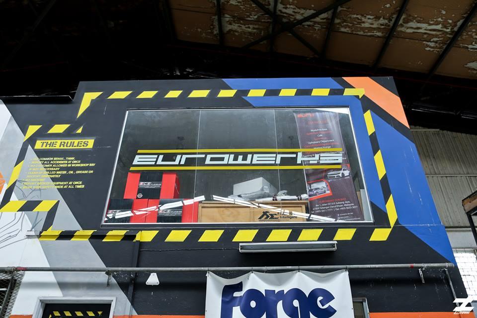 pemilik bengkel kereta Eurowerks di Subang Jaya yang berjaya membuktikan usia muda