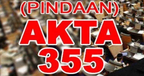 Ruu 355 Umno akan berpecah