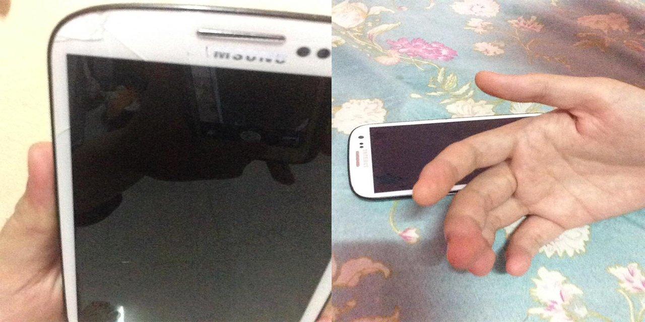 Screen Phone Pecah, Tangan Kebas, Plug Hangus, Akibat Bermain Phone Masa Hujan