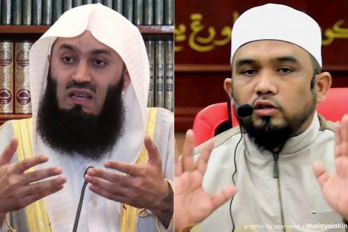 """Johor Mengharamkan Dua Pendakwah Islam, Mufti Zimbabwe, Ismail Menk Dan Ustaz Haslin Baharim """"Ustaz Bollywood"""""""