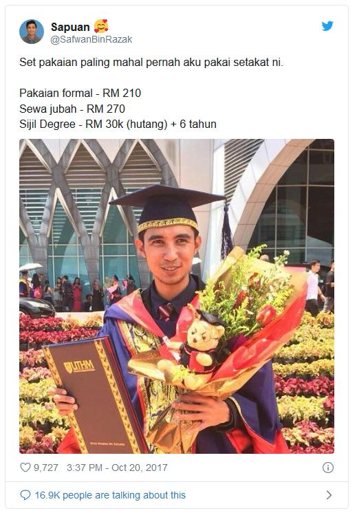 Nampak Bergurau, Tapi Ini Realiti Lulusan Universiti