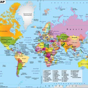 Negara Yang Mempunyai Keluasan Yang Besar